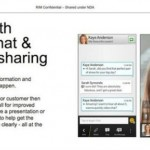 Blackberry 10 - Video Chat and Screen Sharing in BBM